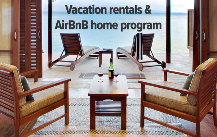 Vacation Rentals and Air BnB Program